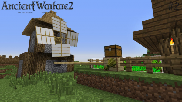 Мод Ancient Warfare для Minecraft
